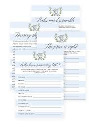 boy baby shower games printable games for elephant themed baby