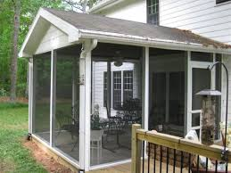 Patio Screen Kit by Enjoying The Scenery With Enclosed Porch Kits Karenefoley Porch