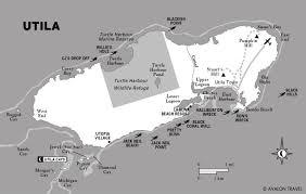 Map Of Roatan Honduras Utila Cays Tiny Little Paradises U2022 Alex In Wanderland