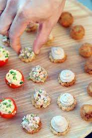 food canapes stopping canapés the cookery at daylesford