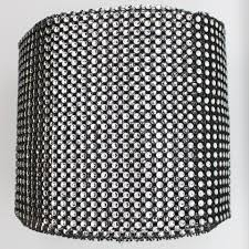 bling ribbon 4 75 x 10 yards black diamond mesh wrap roll sparkle bling
