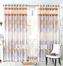 Orange Patterned Curtains Orange Patterned Curtains U2013 Teawing Co