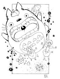 hayao miyazaki coloring pages hľadať v google obrázky 2