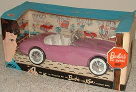 barbie cars barbie u0027s own sports car barbie u0026 friends nrfb archives