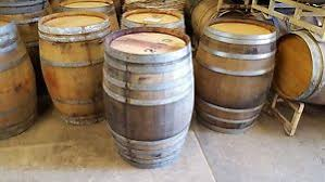 Wine Barrel Vanity Used Wine Barrels Ebay