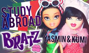 bratz study abroad 2016 kumi to yasmin to italy doll