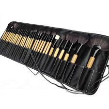 32pcs professional soft cosmetic eyebrow shadow makeup brush set