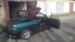 peugeot open top peugeot 306 cabrio 1994 2 0 89kw electric roof open close youtube
