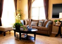 accessories endearing blue and brown living room decor curtains