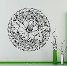 Lotus Flower Wall Decal Om by Compare Prices On Stickers Indian Online Shopping Buy Low Price