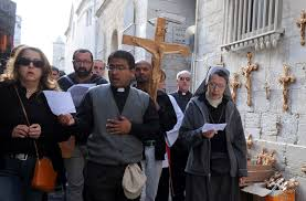 holy land pilgrimage catholic pilgrims do not abandon the holy land patriarchate of