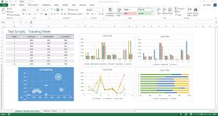 Excel Templates For Tracking Software Testing Templates 50 Word 27 Excel