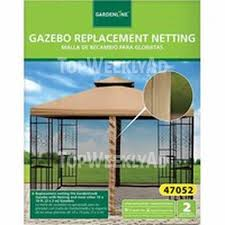 Replacement Canopy by Gardenline Gazebo Replacement Canopy Or Netting Aldi In Store