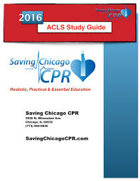 acls study guide saving chicago cpr