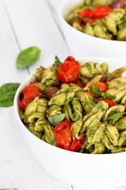 vegan avocado pesto pasta ceara u0027s kitchen