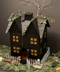 papercrafting holidays halloween a haunted house