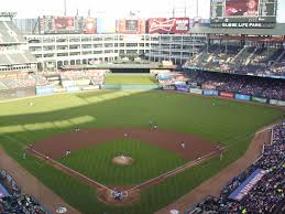 lexus club infield texas rangers globe life park in the ballparks