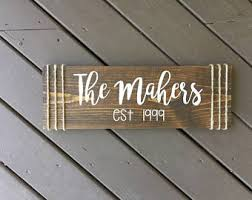 Personalized Wood Signs Home Decor Wood Wedding Sign Custom Wood Sign Wedding Welcome Sign