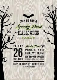 halloween kids party invitations disneyforever hd invitation 336