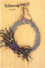 Halloween Wreaths Door Diy Halloween Wreath Liz On Call