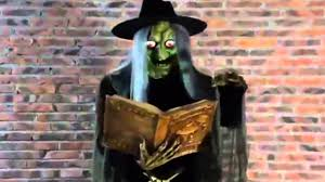 free halloween props halloween witch laughing scary witch prop youtube