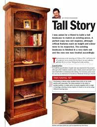 Plans Wood Bookcase by Tall Bookcase Plans U2022 Woodarchivist