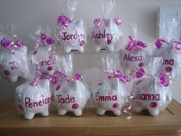 piggy bank favors personalized party favors pictures to pin on thepinsta