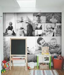 vorschläge für wandgestaltung bilderwand ohne rahmen mit schwarz weißen fotos vorschläge für