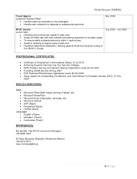 Dental Hygiene Resume Samples by Elaine Resume Hospitality Portfolio