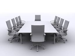 Modern Boardroom Tables Furniture Luxurious White Modern Conference Table For