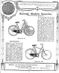 1909 raleigh modele superbe x frame model 20a raleigh bicycle museum
