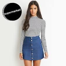 denim skirts the best 70s inspired denim skirts