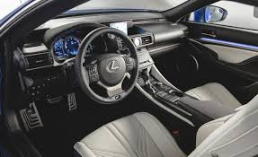 lexus lf lc interior lexus rc f performance coupe present at detroit automiddleeast com
