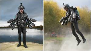 real iron sets jet suit speed record for guinness