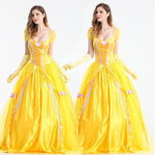 Halloween Belle Costume Cheap Yellow Southern Belle Costume Aliexpress