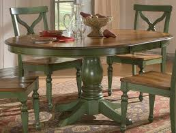 Country Dining Room Furniture Sets Sidney Dining Room Set Green Country French Round Table And 4