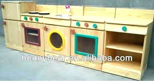 childrens wooden kitchen furniture wooden kitchen deluxe wooden play kitchen in white and