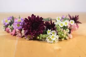 flower crowns fresh flower crowns craft class