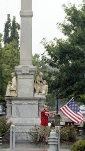 Black Flag Statue Puzzle Ellis Urges Macon To Move Confederate Statues From Downtown The