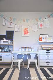 Kids Art Room by Kid Playroom Reveal House Updated