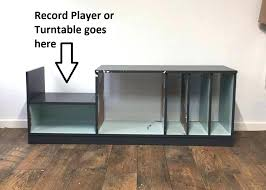 record player table ikea record player storage small record player or stand with vinyl
