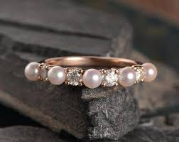 the pearls wedding band 59 unique wedding bands engagement rings for women
