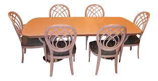 henredon charisma dining set chairish