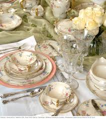 Beautiful Place Settings Free Spring Decorating And Etiquette Seminars At Replacements Ltd
