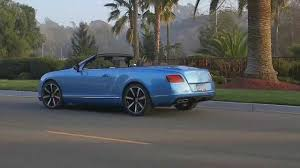 bentley gt3r convertible bentley continental gt v8 s convertible kingfisher youtube