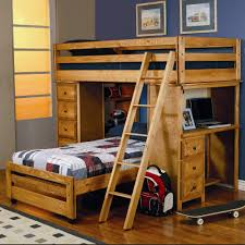 space saver loft bed furniture twin beds with desk bedroom teak