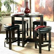 granite top round pub table granite pub table sets coaster glass modern bar table set in sets