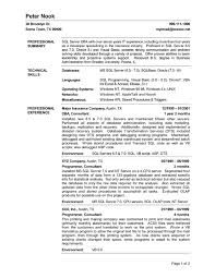 Sample Sql Server Dba Resume by Waitress Sample Resume Waitress Resume Example Sample Resume