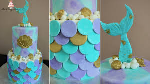the mermaid cake mermaid cake tutorial