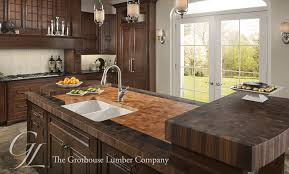 kitchen islands butcher block butcher block countertops for kitchen and bath by grothouse